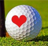 Sellos de la pelota de golf con varios diseños