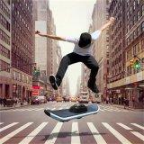 """Caraok um skate elétrico CD01 do """"trotinette"""" do contrapeso do auto da roda"""
