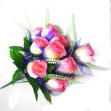Bello fiore Handmade di plastica del tessuto di seta del fiore artificiale della Cina per la decorazione