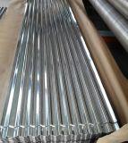 (0.125mm-0.8mm) Feuille en acier ondulée galvanisée plongée chaude de toiture