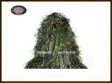 Polyester Respirant Army Green Ghillie Suit for Outdoor Sports (FY-001)