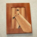 Frame de retrato de madeira da impressão extravagante da tela