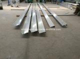 鉄骨構造の家のための軽量及び強いZの母屋か工場または倉庫または農場