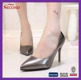 Сексуальные розовые острые остроконечные ботинки высокой пятки