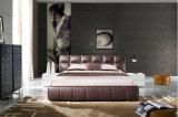 Base de cuero adulta moderna del diseño simple para el dormitorio (HC329)