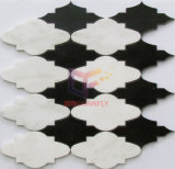 Il marmo di taglio del getto di acqua del reticolo della nube ha fatto il mosaico (CFW45)
