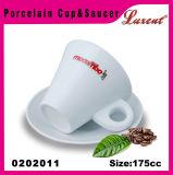 사기그릇 Cappuccino 다방 찻잔과 접시