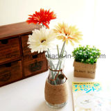 Flor artificial del solo Gerbera de la alta calidad de 18 colores (SF10004)
