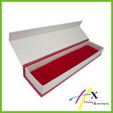 磁気閉鎖が付いているクラムシェル様式の包装の紙箱