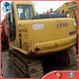 Máquina escavadora hidráulica usada da mini esteira rolante de KOMATSU PC120