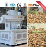 Anillo Vertical Die pellets de madera de la máquina con el molde de doble capa