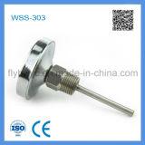WSS-303 assiale Dial 60 millimetri bimetallico Termometro