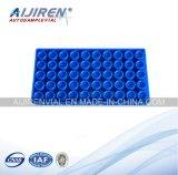 Supports de fiole pour les trous bleus 1PCS/Pack des fioles en verre pp 50