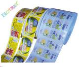 Escrituras de la etiqueta de empaquetado personalizadas del PVC de la impresión