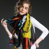 Colorfull 스카프 섹시한 소녀 실크 스카프
