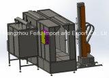 La cabina automatica del rivestimento della polvere con la cartuccia di filtro recupera il sistema