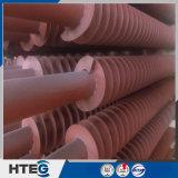 Tubo de aleta espiral material del acero inoxidable en uso de la caldera
