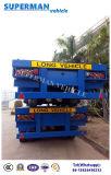 Vitenam Flachbetttyp des behälter-Hilfshalb LKW-Schlussteil-Cimc