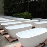 Vasca da bagno di superficie solida indipendente della stanza da bagno moderna (BT170113)