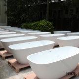 Bañera superficial sólida libre del cuarto de baño moderno (BT170113)