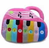 Jouet mou de piano de bébé avec le module électronique à l'intérieur