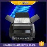 Iluminación de la etapa LED del color LED de la ciudad del RGB 108X3w