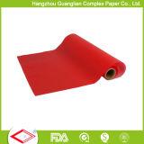 La insignia imprimió el rodillo del papel de la hornada con la capa del silicón
