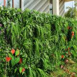 Rete fissa artificiale della parete del giardino dell'erba verde di alta qualità
