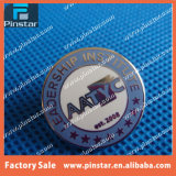 Usine Established en Pin 2003 de Blue Aatyc Enamel Round Metal Custom Lapel