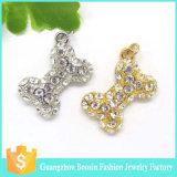 De Europese Levering voor doorverkoop van de Charme van de Zak van het Kristal van de Juwelen van de Manier Zilveren