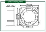 Ventilador da C.A. 220V para o indicador de diodo emissor de luz