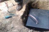 De begraven ZonneDoos van de Batterij voor ZonneVerlichting