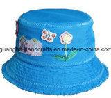 Kundenspezifischer preiswerter faltender Blumen-Wannen-Hut-Großverkauf