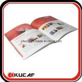 Folheto de papel dos produtos feitos sob encomenda da impressão Offset
