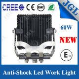 60W頑丈なクリー族LEDのトラックライト12V LED作業ライト