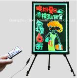 Alta calidad LED tablero de escritura para Tiendas Publicidad