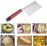 De roestvrije Snijmachine van de Snijder van de Kreuk van de Aardappel van het Blad van de Wortel van het Deeg van de Spaander van de Hulpmiddelen van de Toebehoren van de Keuken Plantaardige Golvende