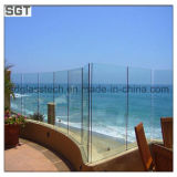Glass Fencing를 위한 16mm Ultra Clear Tempered Safety Glass