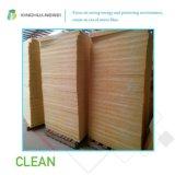 Cobertor das lãs de vidro para o material de construção