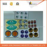 Preiswerter Preis-Aufkleber-Kennsatz, Aufkleber-Drucken, kundenspezifische farbenreiche Aufkleber