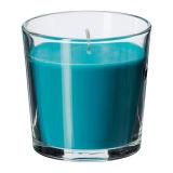 Natürliche Sojabohnenöl-Wachs-Aroma-Kerzen im Glasglas