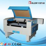 Cortadora del laser de Glorystar Glc-9060 con el tubo del laser de cristal 80W