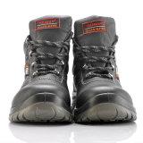 Zapatos de seguridad del corte de Midlle con la punta de acero para los trabajadores M-8215