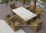 PEの藤の屋外の庭の家具