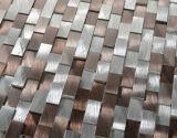 建築材料のモザイク・タイルのアルミニウム金属のモザイク(FYL053)