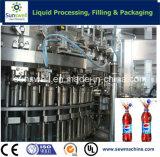 炭酸清涼飲料の飲料機械
