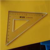 卒業学生のためのカスタム耐久財PMMA/Plexiglassの定規