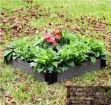 Bac de fleur imperméable à l'eau de jardin de WPC