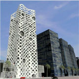 Specialmente Designed Aluminum Panels per Top Office Buildings