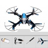 277A9c-RC Quadcopter Helicopter 2.4GHz 4CH 6 Axis Gyro 360 Degree Eversion One Key Roll 2.0MP Camera